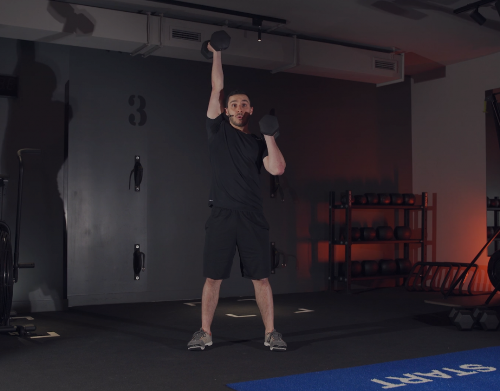 Vidéo Sequence Dumbbell